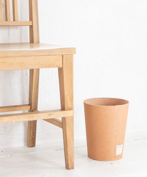 [sarasa design store] b2c リサイクルレザー ダストボックス S