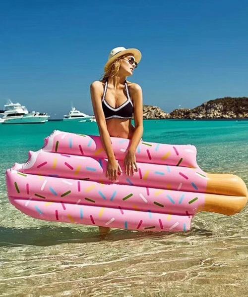 [chuclla] 【c.u.l】POP アイスバー型がキュート ビックフロート 浮き輪