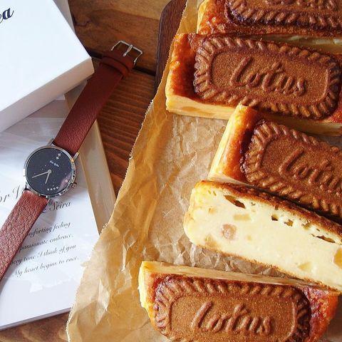 美味しいロータスチーズケーキ
