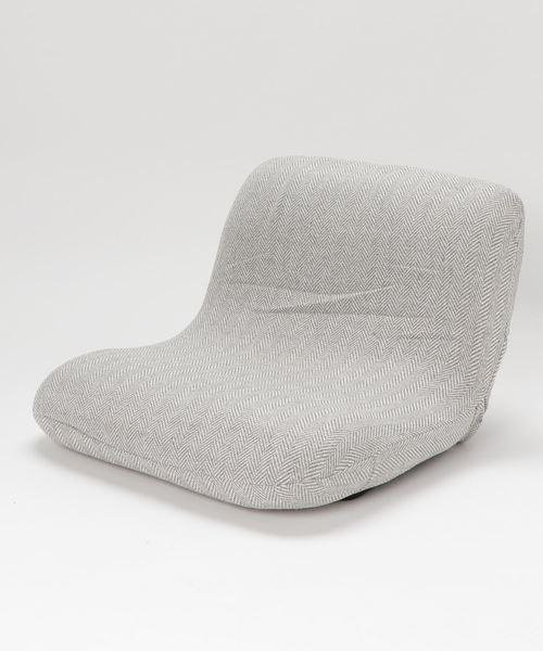 [studio CLIP] 折りたたみワイド座椅子