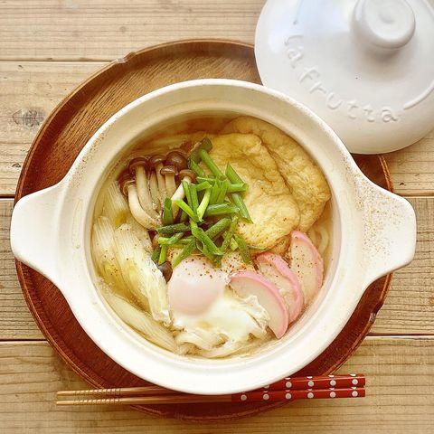 冬に人気のレシピ!鍋焼きうどん