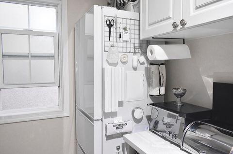 ワイヤーネットで叶うキッチン収納6