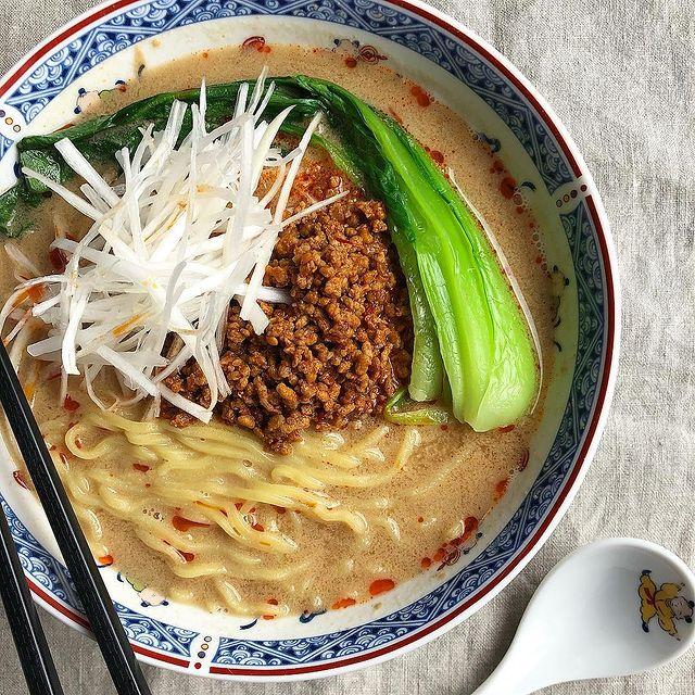 ピリ辛風味が美味しい簡単担々麺