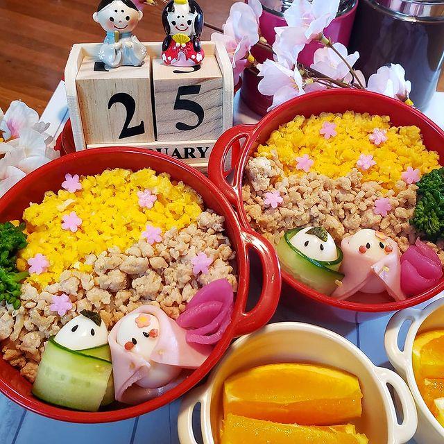 女の子が喜ぶイベントレシピのひな祭り弁当