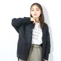 2021年の春は黒×シアーシャツで大人コーデ。流行りのアイテムで作る着こなし術