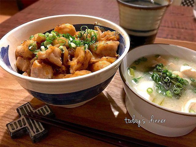 丼料理の人気節約レシピ3