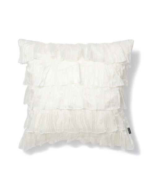 [Francfranc] クッションカバー 450×450 ホワイト(20SS-005)