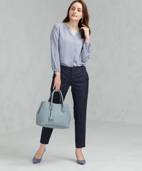 [green label relaxing] 【WORK TRIP OUTFITS】★WTO D TW シャンブレー パンツ