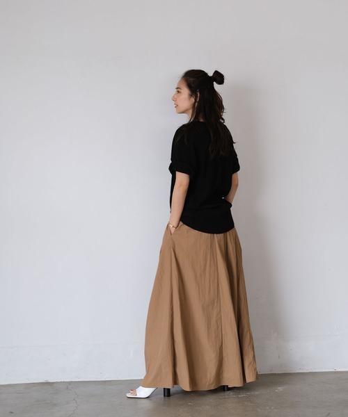 [AKTE] ボリュームライトスカート
