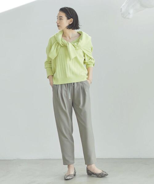 SC ドロスト テーパード サラブレット パンツ <34-40サイズ>
