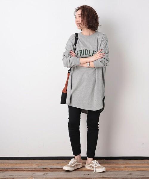 [FREAK'S STORE] 【WEB限定】PENNEYS/ペニーズ 別注フットボールピグメントTシャツ