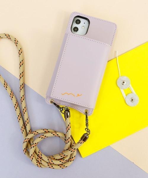 [ACCOMMODE] ロープショルダーiPhoneケース 11対応