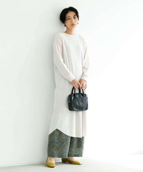 [koe] 【2020AW】マキシ丈ワンピ&ロングカーディガン/3wayカットワンピース*