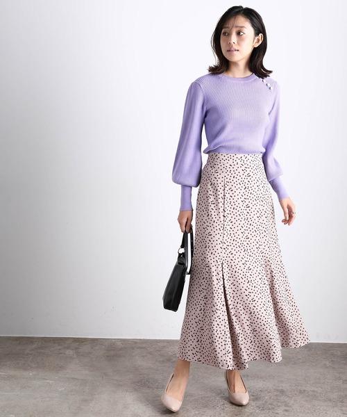 [ViS] 変形ドットナロースカート