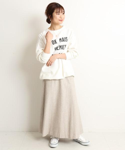 [IENA] ウォッシャブルウールフレアスカート【手洗い可能】◆4