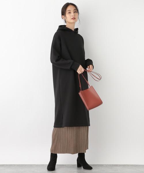 [GLOBAL WORK] Iラインカットプリーツスカート/918964