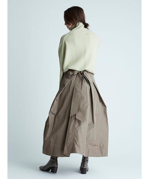 [FRAY I.D] リボンタフタスカート