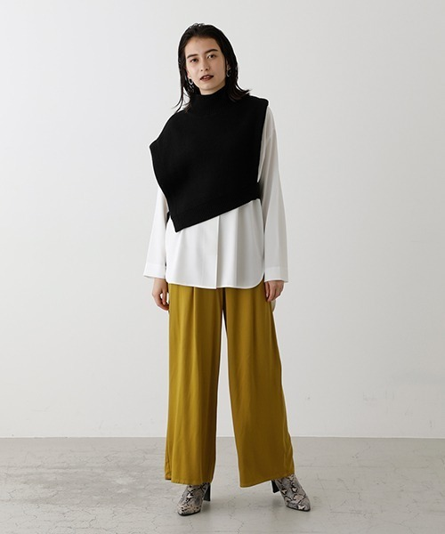 [AZUL BY MOUSSY] COLOR EASY PANTS/カラーイージーパンツ26