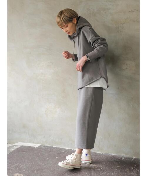 [Green Parks] 【rem closet】スウェットタイトスカート