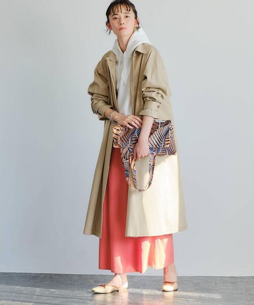 Aライン ステンカラー コート