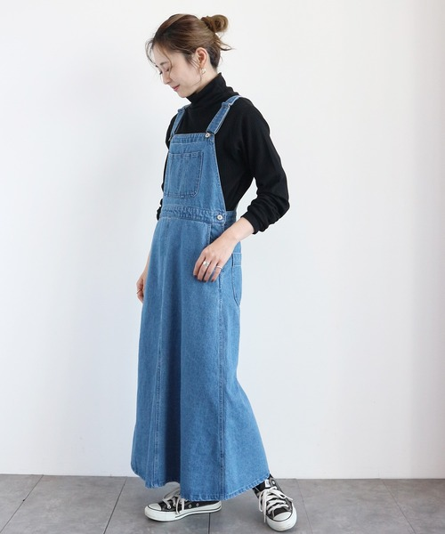 [AMERICAN HOLIC] デニムジャンパースカート *●