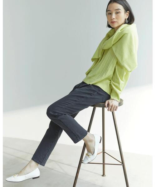 [green label relaxing] ◆SC スキニー パンツ <ブラック>