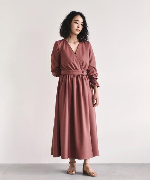 [kaene] カシュクール2wayワンピース【daily collection】