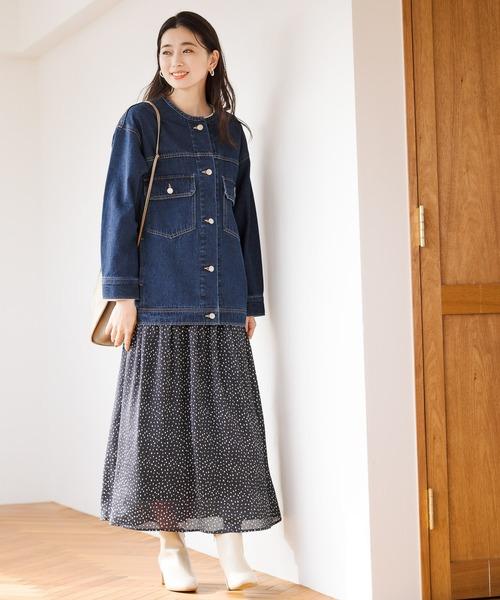 [LEPSIM] ヘンカドット柄スカート 925193