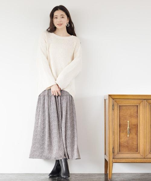 ヘンカドット柄スカート 925193