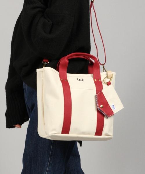 [studio CLIP] 《LEE》マスクケース付きトートバッグ