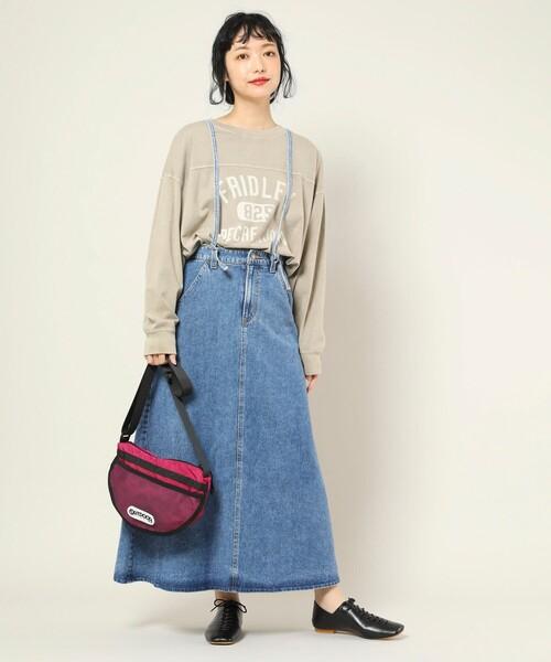 [FREAK'S STORE] ▽SOMETHING × FREAK'S STORE/サムシング 別注Laceup skirt/別注レースアップスカート