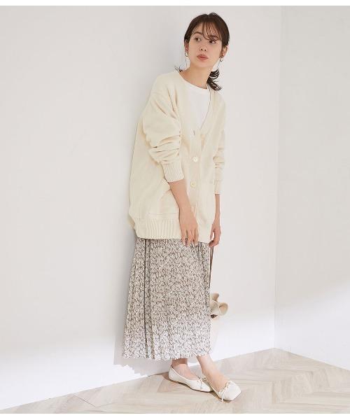 オリジナルプリントオヤコプリーツスカート