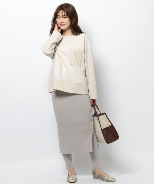 BARNYARDSTORM / リブレギンス付きスカート