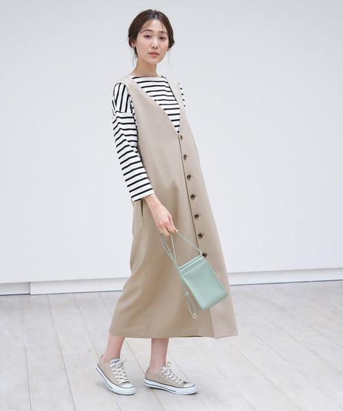 釦ジャンパースカート