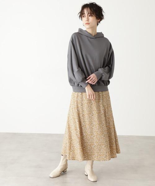 ◆スモールリーフマーメイドスカート