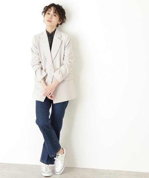 ◆テーラードダブルジャケット