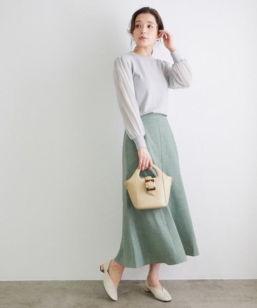 リフラクスキャンバスマーメイドスカート