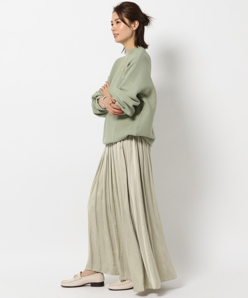 【予約】サテンギャザースカート
