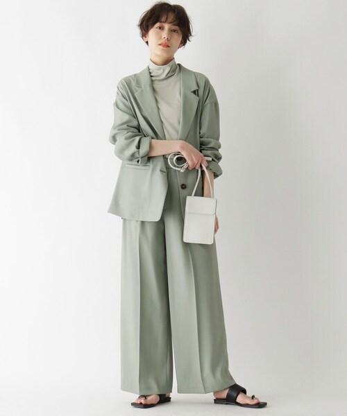 [AG by aquagirl] 【AG by Karen】 コラボリラックスシルエットセットアップワイドパンツ