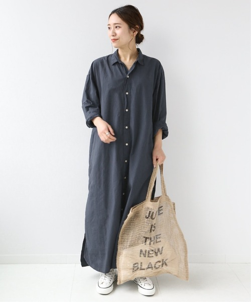 [JOURNAL STANDARD] 【ARMEN/アーメン】UTILITY R/C LONG ONEPIECE SMU:別注ワンピ―ス◆