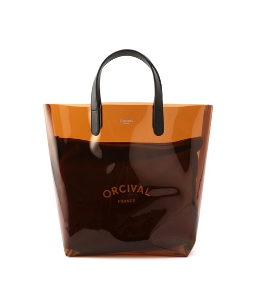 [Bshop] 【ORCIVAL】クリアビーチバッグ 中