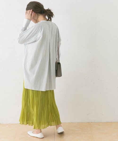 リンクルプリーツスカート