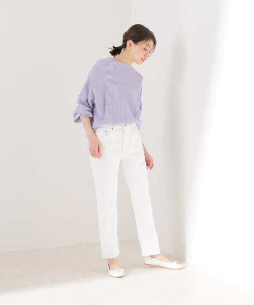 [IENA] 【LEVI'S/リーバイス】501 CROPデニムパンツ【洗濯機洗い可】◆2