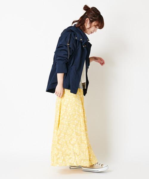 【可憐でさわやかな小花柄】小花柄スカート