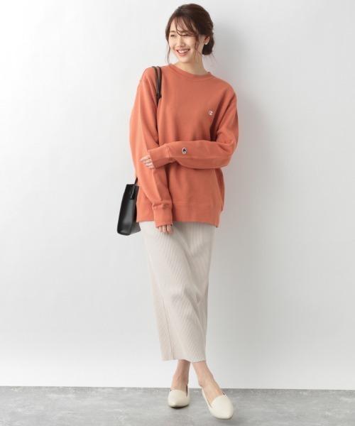 セルフ裾カットIラインスカート/932187