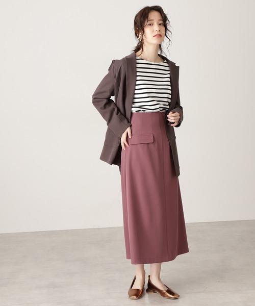 【S Size Line】◆フラップミディスカート