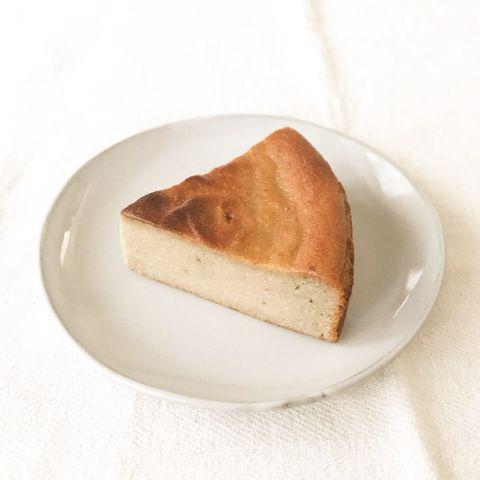 バナナとカシューナッツのチーズケーキ