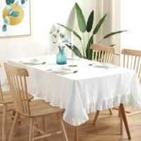 おしゃれな【テーブルクロス】を食卓にプラス!料理の見栄えや雰囲気をチェンジ