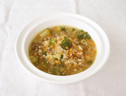 栄養満点レシピ!野菜と雑穀の簡単スープ