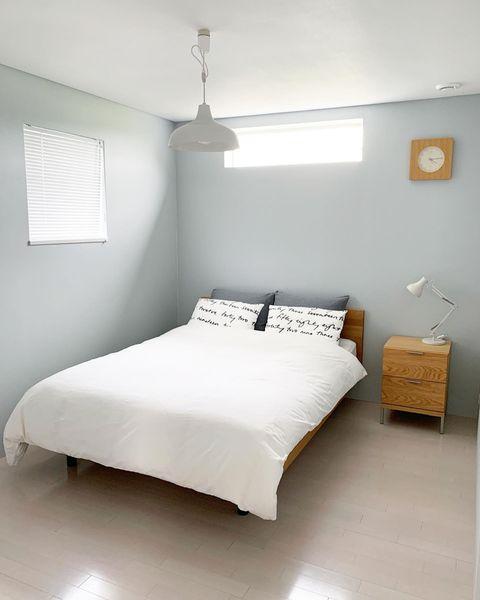 生活動線を意識してベッドを配置